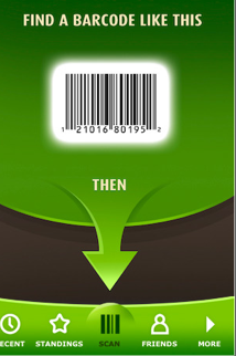 Barcode Hero App on the iPhone